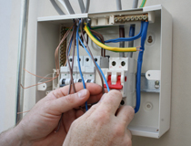 Commercial and domestic electricians
